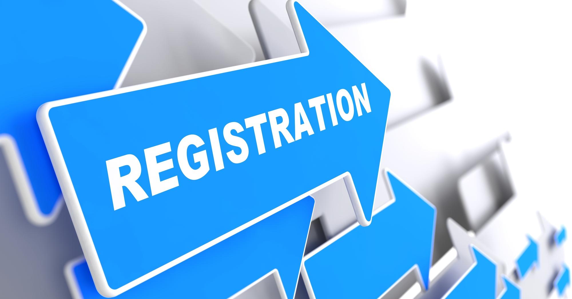 Registration on Blue Arrow.